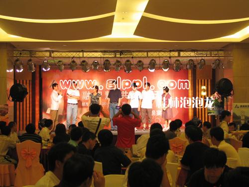 桂林泡泡龙庆典礼仪 桂林会场布置,桂林节庆装饰婚宴喜宴会场装饰,高清图片